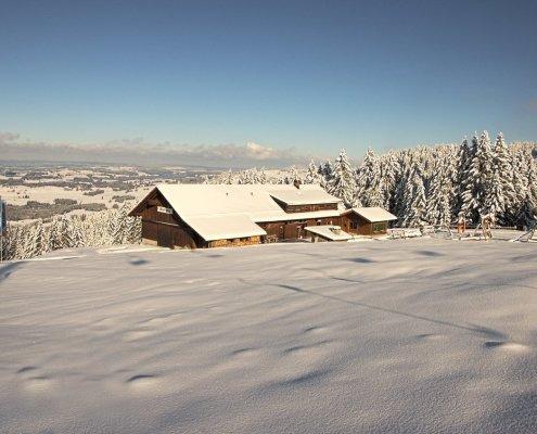 Winter auf der Höfle-Alp
