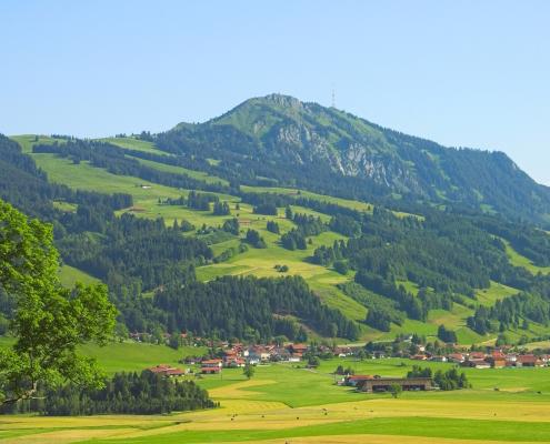 Grünten mit Höfle-Alp
